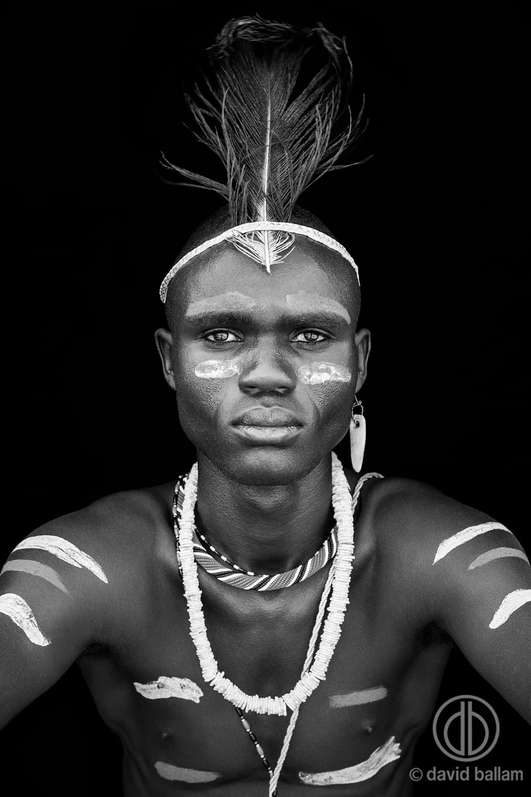 David Ballam - KANA 52 - El Molo Man, Lake Turkana, Kenya.