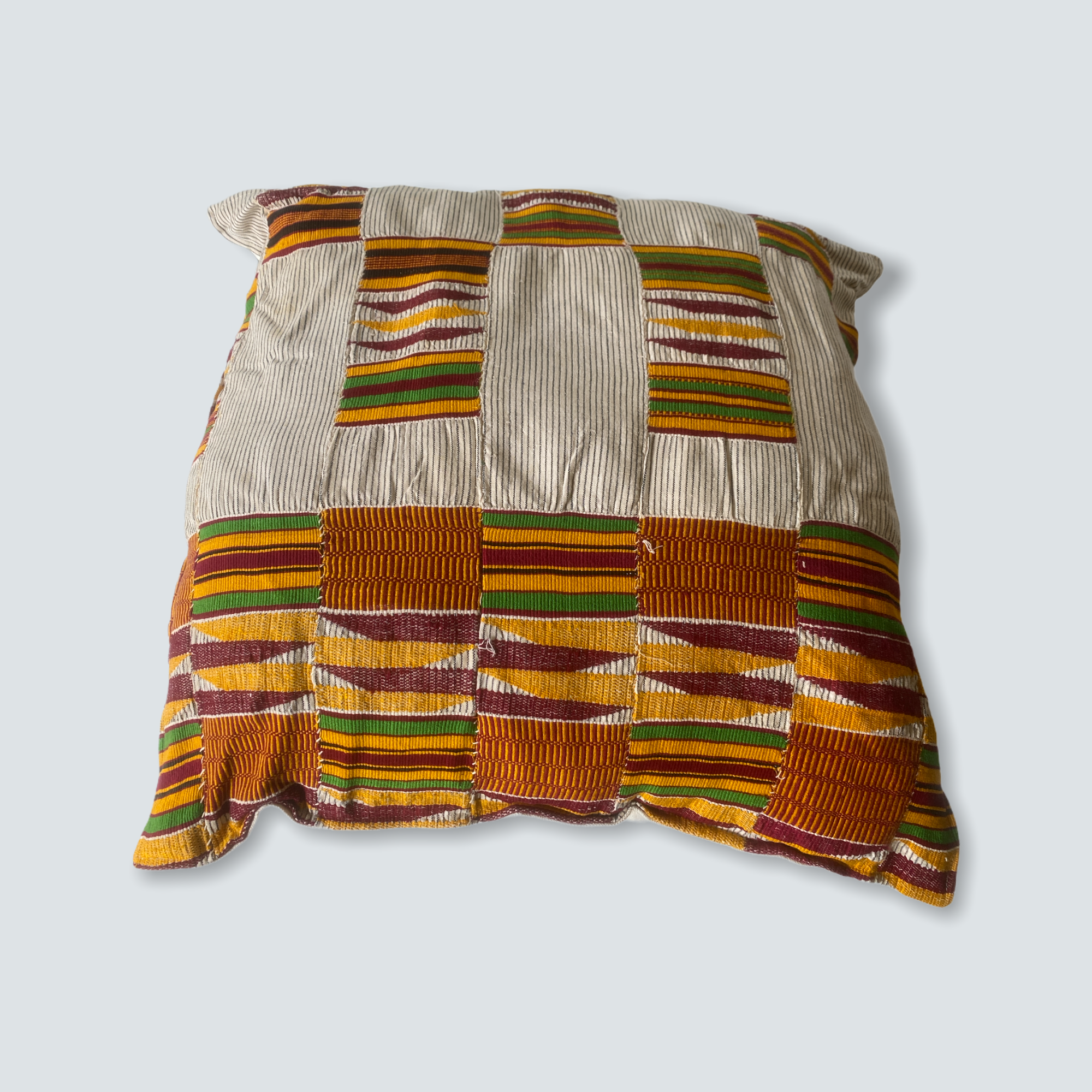 Kente cloth cushion - Ghana 50x50