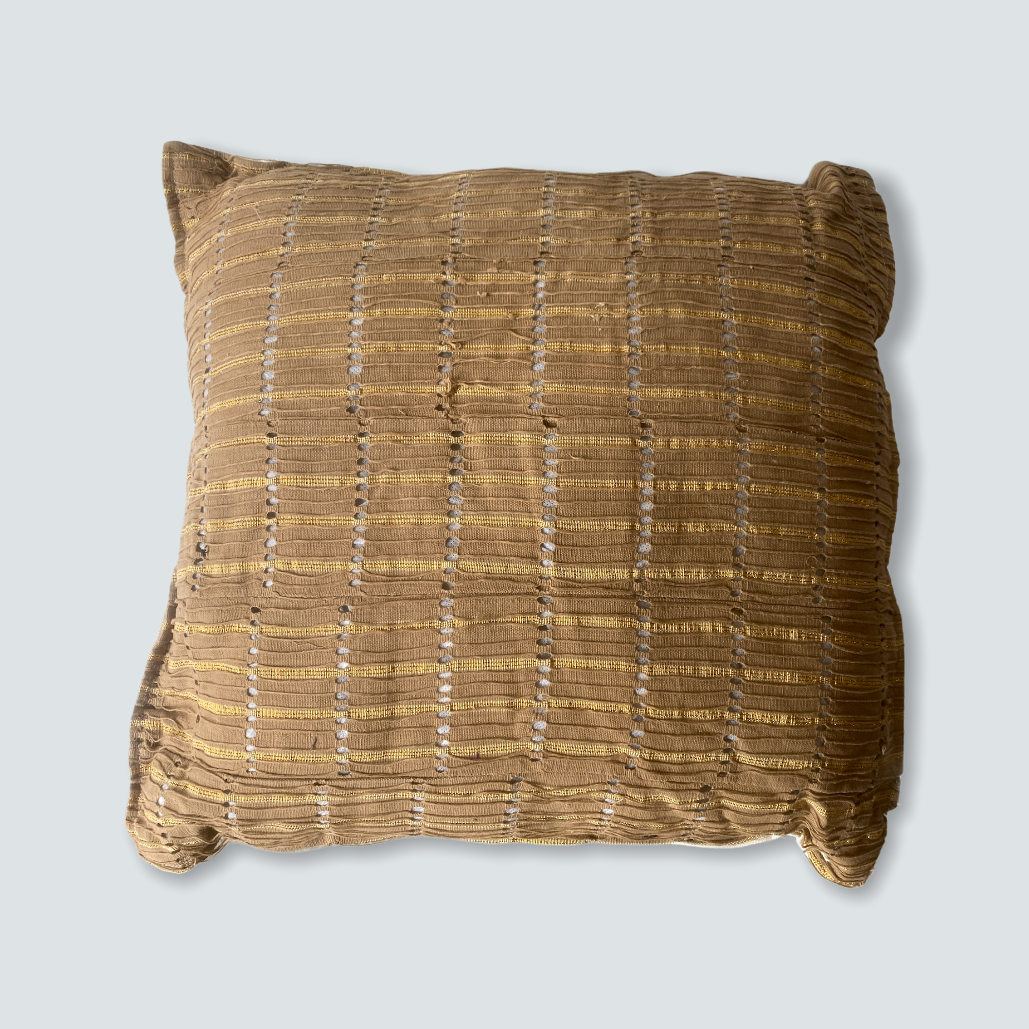Aso Oke cloth - Nigerian cushion 50x50