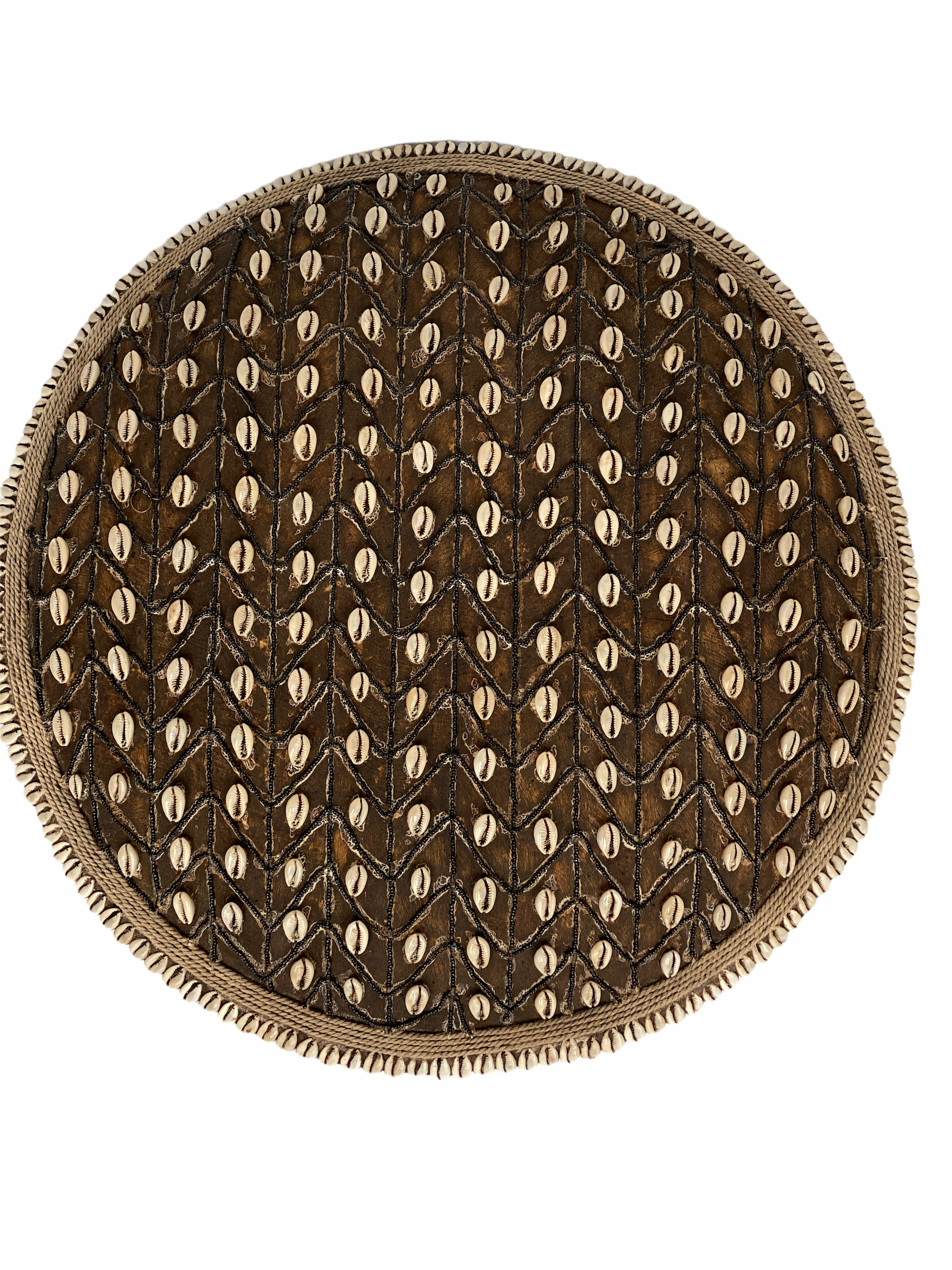 Cameroon Beaded Shield - L - 55cm