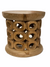 Bamileke Stool \ Table - 40cm - Natural - Doughnut