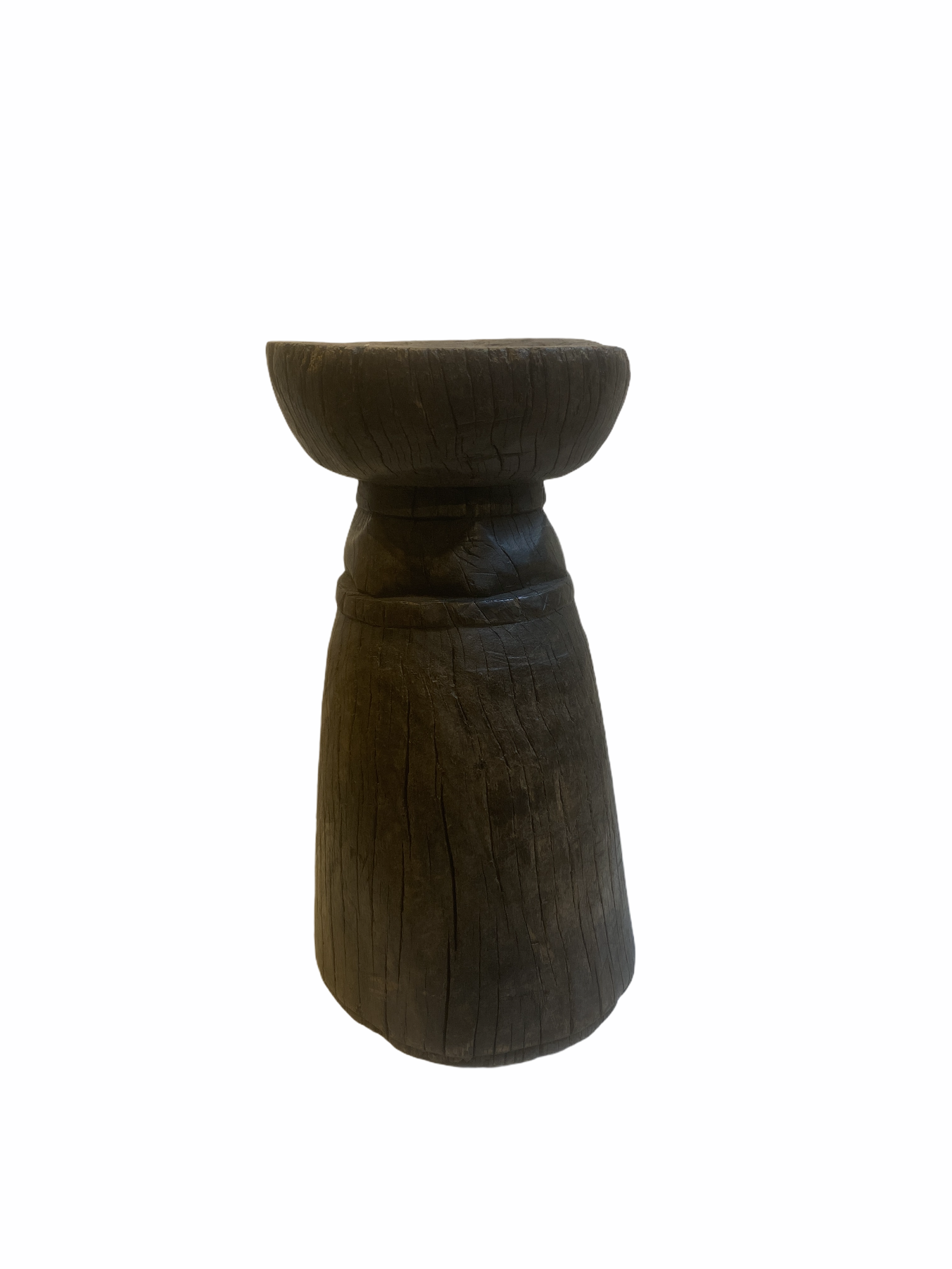 Lozi Grain Stomper (2) Stool/Side Table - Zambia