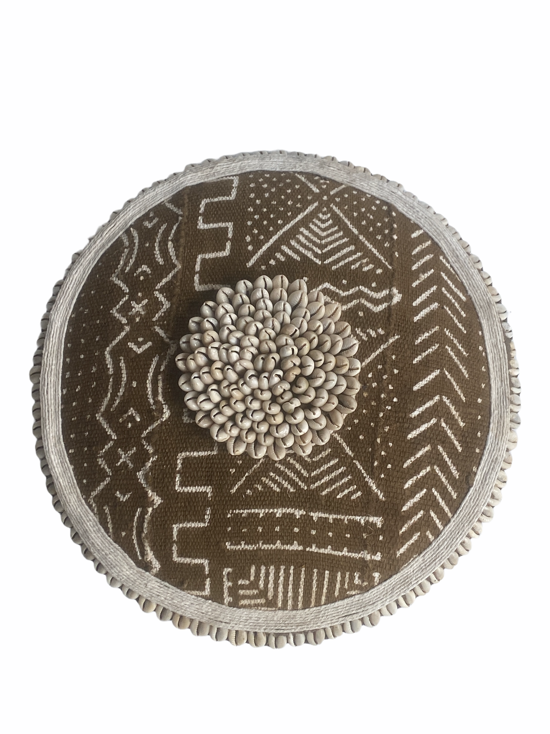 Cameroon Shield Mud cloth 30cm