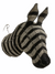 Zebra wall sculpture- Hand made beaded- Large