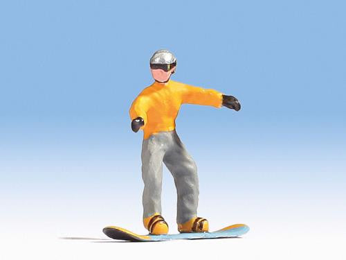 Mark the snowboarder Figure