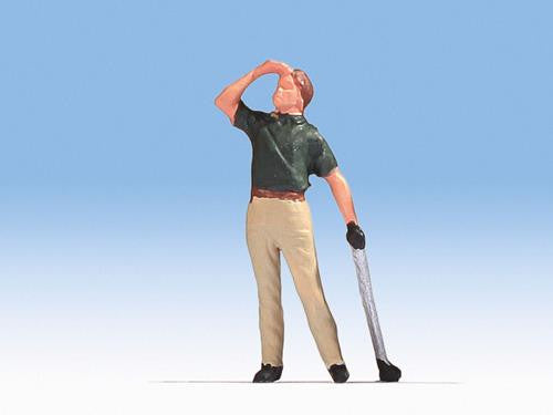 Finn the Golfer Figure