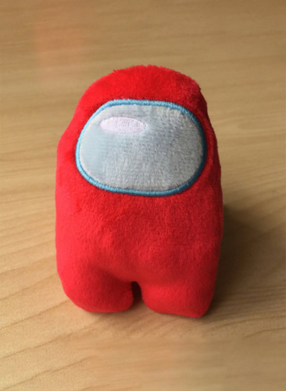 Red Stuffed Toy Cartoon Game Doll Solid Decor LC011060-3
