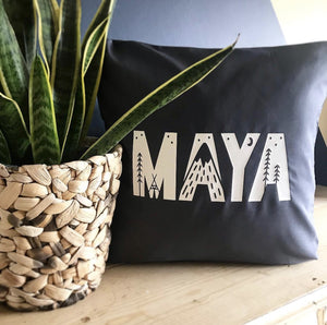 Explorer Cushion - Personalised