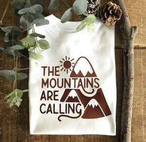 The Mountains Are Calling - Adult Top