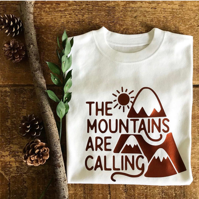 Mountains Are Calling - Big Kids Top