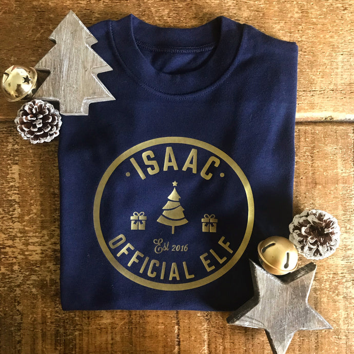 Official Elf - Personalised Top