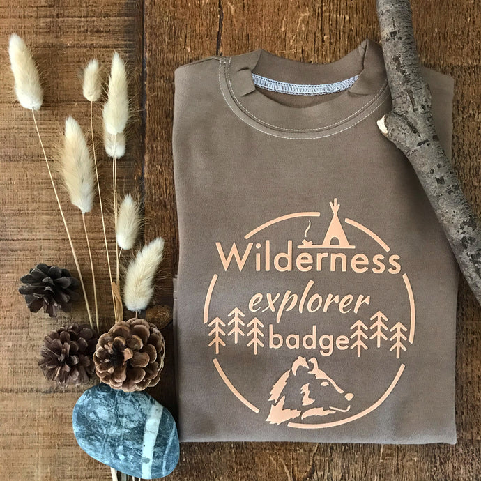 Wilderness Badge - Adult Tshirt