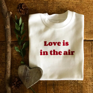 Love Is In The Air - Adult Sweater