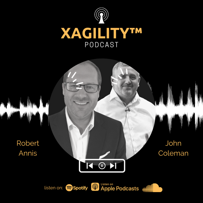 Robert Annis and John Coleman discuss the agile manifesto & organizational agility