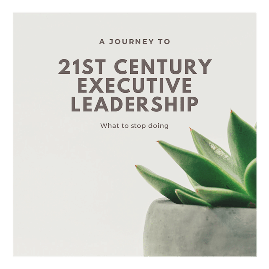 21st Century Leadership - Prologue