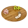 Bamboo turntable 50cm - sausage plate or cheese platter, turntable and serving platter
