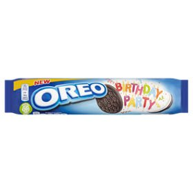 Oreo Birthday Party Sandwich Biscuits 154g