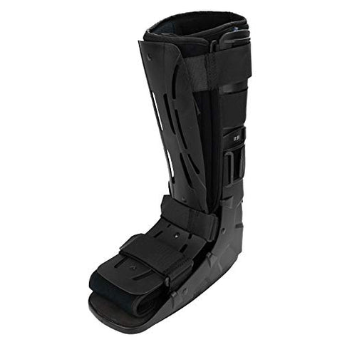 Sammons Preston Tall Shell Ankle Walker LG/XL, Immobilization and Stabilization of Foot & Ankle Fractures & Sprains, Designed to Facilitate Natural Steps, Comfortable Prolonged Wear