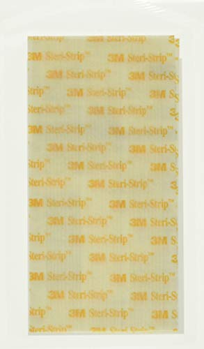 "3M Steri-Strip reinforced Skin Closures - 1/2"" x 4"" - 10 pack of 6 strip envelope (60 strips)"