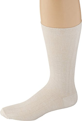 Sammons Preston 100% Cotton Oversized Socks, Lightweight & Comfortable Socks