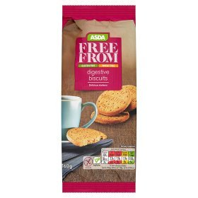 Asda Free From Digestive Biscuits 160g