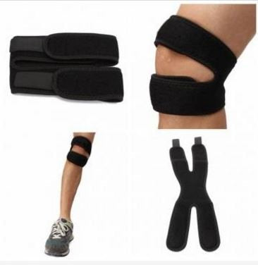 2PCS Adjustable Knee Patella Tendon Support Brace Strap Guard by SiamsShop
