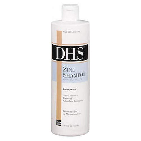 Dhs Zinc Shampoo, Soothes And Nourishes - 16 Fluid Ounce