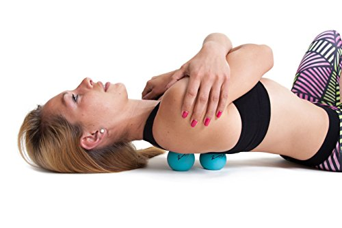 ActiveProZone Therapy Massage Ball - Instant Muscle Pain Relief. Proven Effective for Myofascial Release, Deep Tissue Pressure, Yoga & Trigger Point Treatments. Set - 2 Extra Firm Balls W/ Mesh Bag.