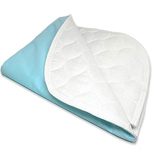 "RMS Ultra Soft 4-Layer Washable and Reusable Incontinence Bed Pad - Waterproof Bed Pads, 34""X36"""