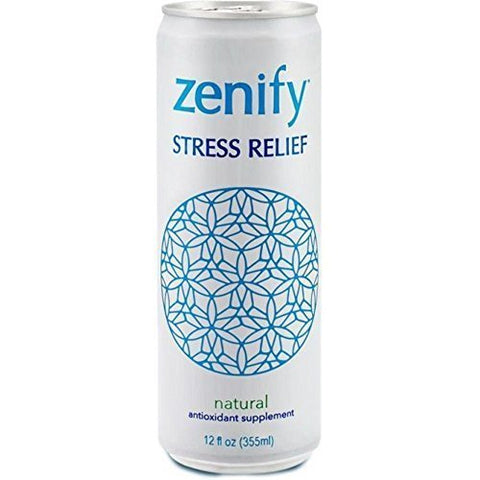 Zenify Natural Stress Relief Drink, 12 Fluid Ounce -- 12 per case. by Zenify