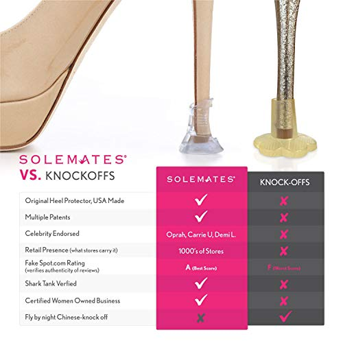 Solemates High Heel Clear Protectors (Wide)