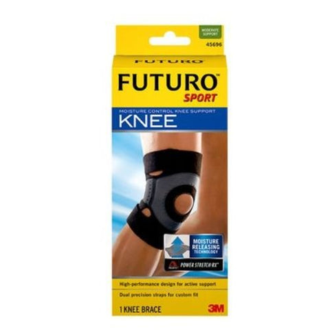 3M Health Care 45699EN Knee Support, X-Large, Black (Pack of 12)
