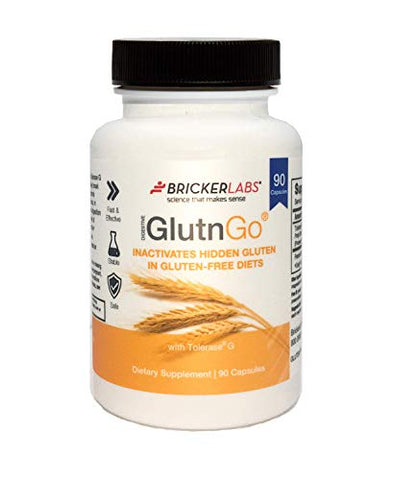 Bricker Labs Glutngo Capsules, 90 Count
