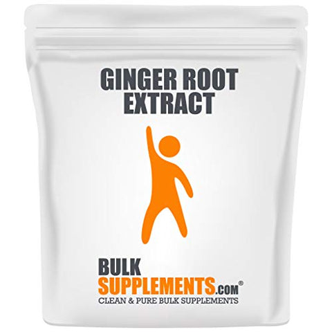 BulkSupplements.com Ginger Root Extract (250 Grams - 8.80z - 250 Servings)