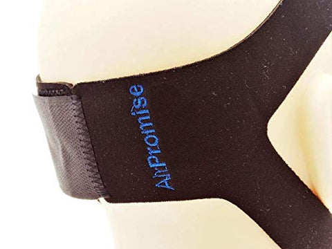 Chin Strap for Reduce Snoring (Blue and Black)