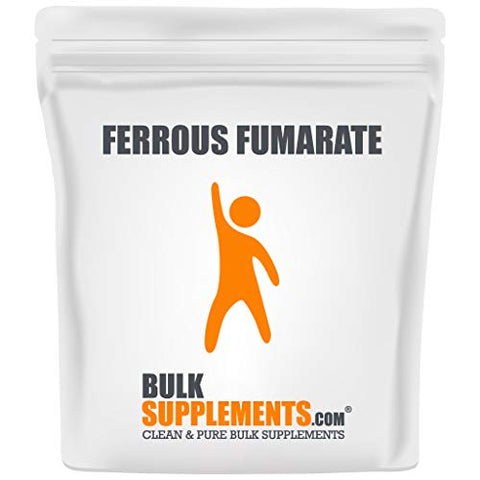 Bulksupplements Ferrous Fumarate Powder (1 Kilogram)