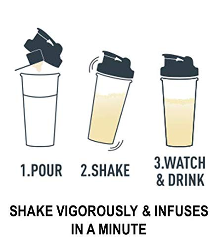 "Isopure Infusions, Refreshingly Light Fruit Flavored Whey Protein Isolate Powder,""Shake Vigorously & Infuses in a Minute"", Pineapple Orange Banana, 16 Servings"