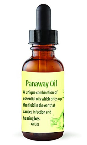 Pain Away, Powerful Natural Essential Oil Blend for Relief for Ear Pain, Ear Infection, Hearing Loss, 1 oz. by Releaf Oil