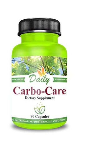 Daily Carbo-Care | Advanced Glucose Management with Mulberry and Banaba extracts, Berberine, Cinaamon, Chromium, Magnesium and Vanadium