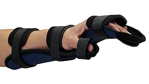 Rolyan - 83052 Kydex Functional Resting Orthosis for Left Wrist, Wrist Splint for Tendinitis, Inflammation, Carpal Tunnel, and Tendonitis, Wrist Splint & Forearm Support & Alignment, Requires Heat Gun
