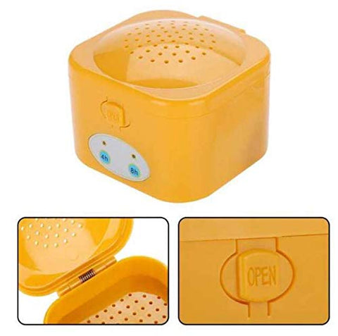 CMTEK Hearing Aid Dryer Case Dehumidifier Hearing aid Cleaner with 4/8 Hour Timing Function