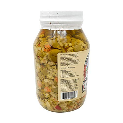 Progress Grocery, Olive Salad, 32 Ounce