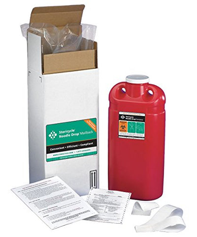 Sharps Mailback System, 3 Gal., Screw Lid