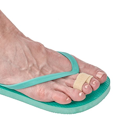 3-Point Products 3pp Toe Loops for Hammertoes, Broken or Overlapping Toes, Wide Pack of 3
