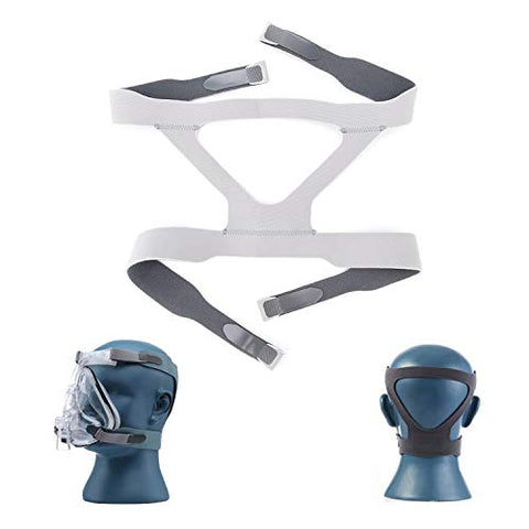 Universal CPAP Headgear Strap for ResMed Mirage Series, Philips Respironics CPAP Mask, Soft Stretchy Material, Standard (Headgear Only)