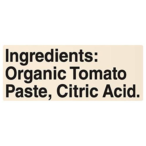 Muir Glen Organic Tomato Paste, 6 oz (Pack of 24)