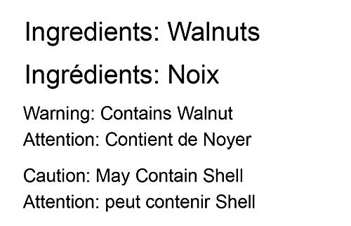 Walnuts, 8 Ounces - Raw, Kosher, Shelled, Unsalted, Natural, Sirtfood, Bulk