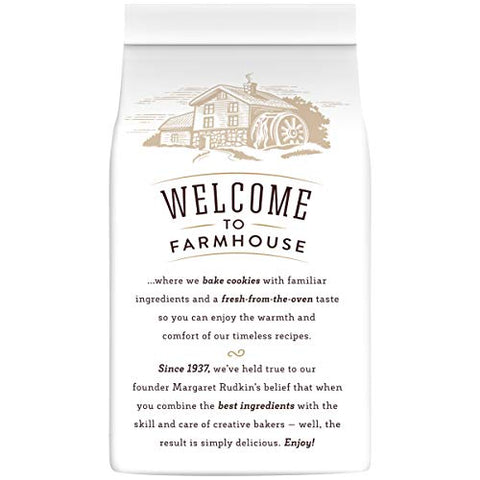 Pepperidge Farm Farmhouse Thin & Crispy Toffee Milk Chocolate Cookies, 6.9 oz. Bag
