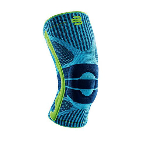 Bauerfeind Sports Knee Support - Knee Brace for Athletes with Medical Grade Compression - Stabilization and Patellar Knee Pad (Rivera, M)
