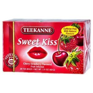 Teekanne Fruit Seduction Sweet Kiss Tea / 20-Count / 60g / 2.1oz. (6 Packs)